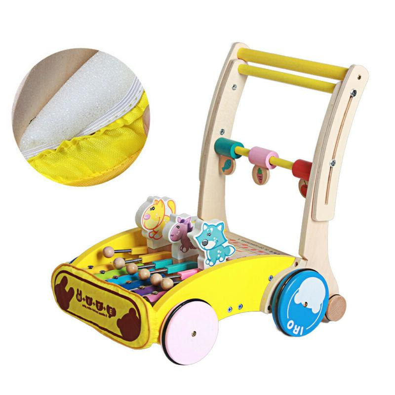 Baby Infant Cart & Pull Toy Kids Toddler Walking Toy