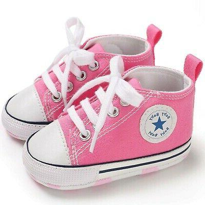 Canvas Shoes Toddler First Soft Sol... New