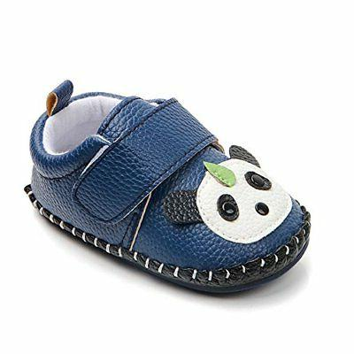Lidiano Baby Non Slip Rubber Sole Cartoon Walking Slippers C