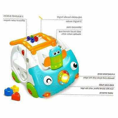 Baby Sit Learning Car Activity with Music and Light