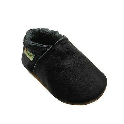 baby soft sole shoes genuine leather first