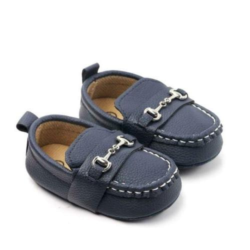 baby soft sole toddler loafers boat shoes