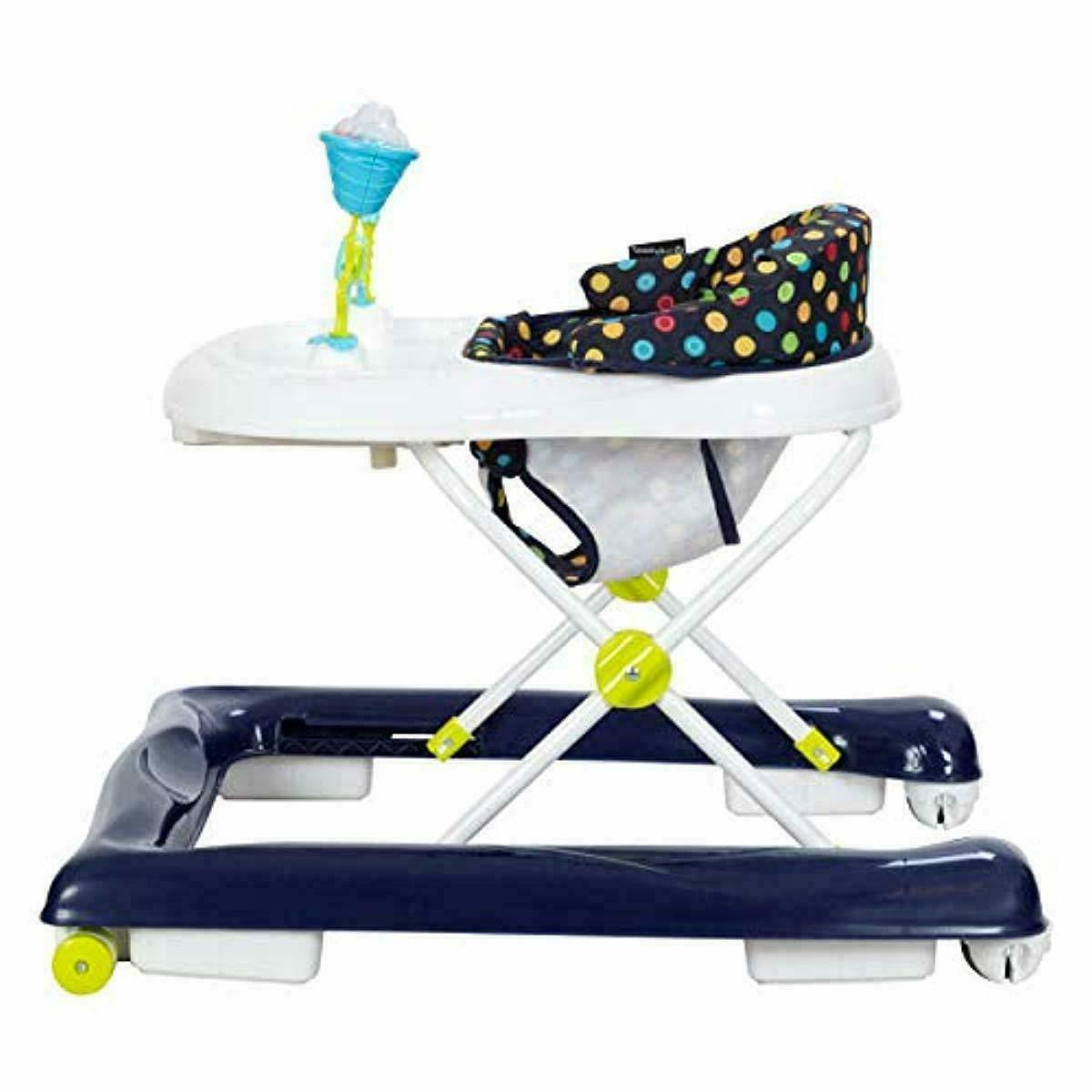 Baby Trend activity walker for girl boy with wheels chair behind tray