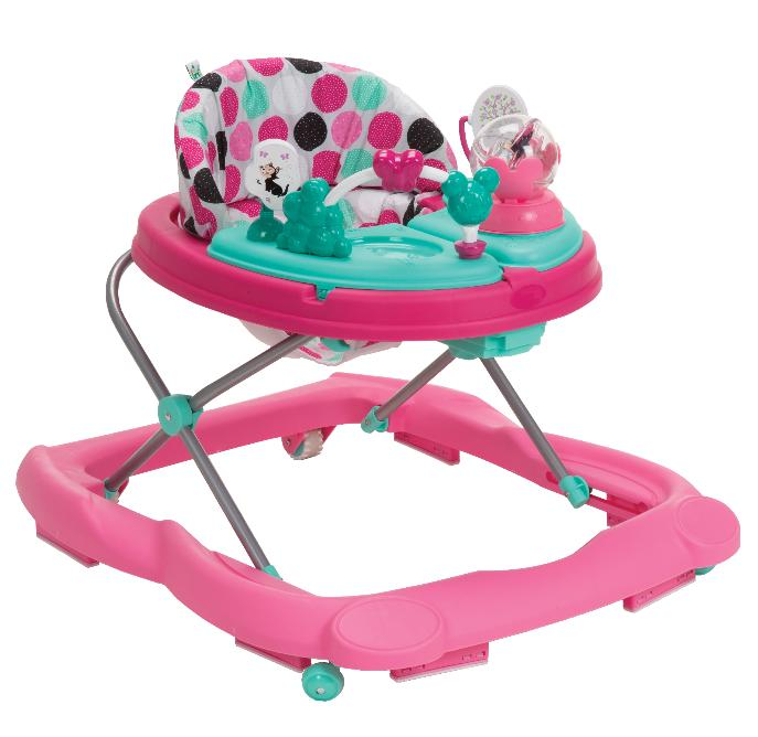 Disney Baby Music and Lights Walker With Activity Tray, Minn