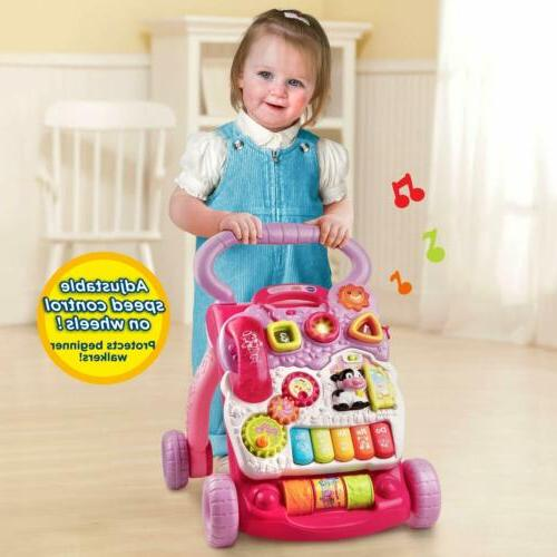 Baby Walker Sit-to-Stand Learning Walker Toddler Toys for Children