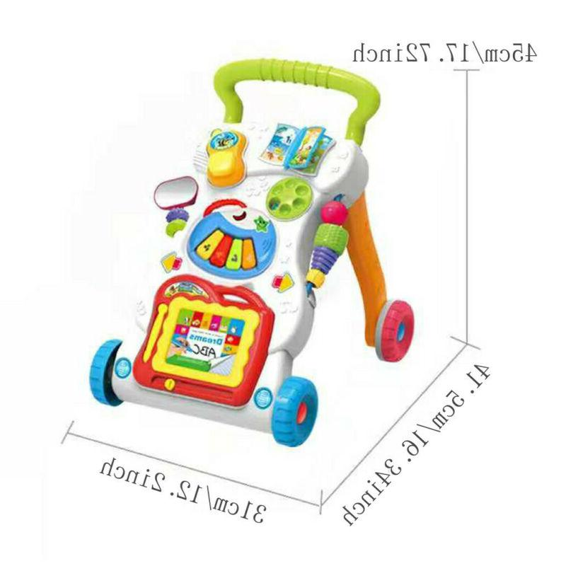 Sit-to-Stand Learning Walker Baby Music
