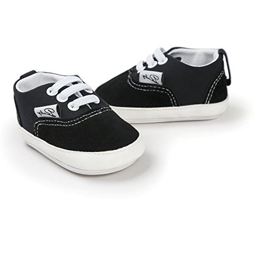 RVROVIC Baby Shoes Canvas Toddler Sneakers Anti-Slip First
