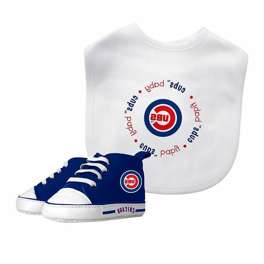 chicago cubs new infant bib and pre