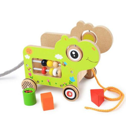 Children Wooden Baby Animal Learning
