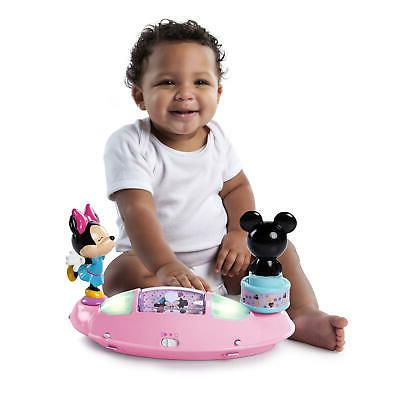 Disney Baby Girl Mouse Baby Bouncer Jumper with Station