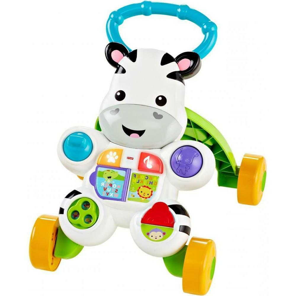 fisher price learn with me zebra baby