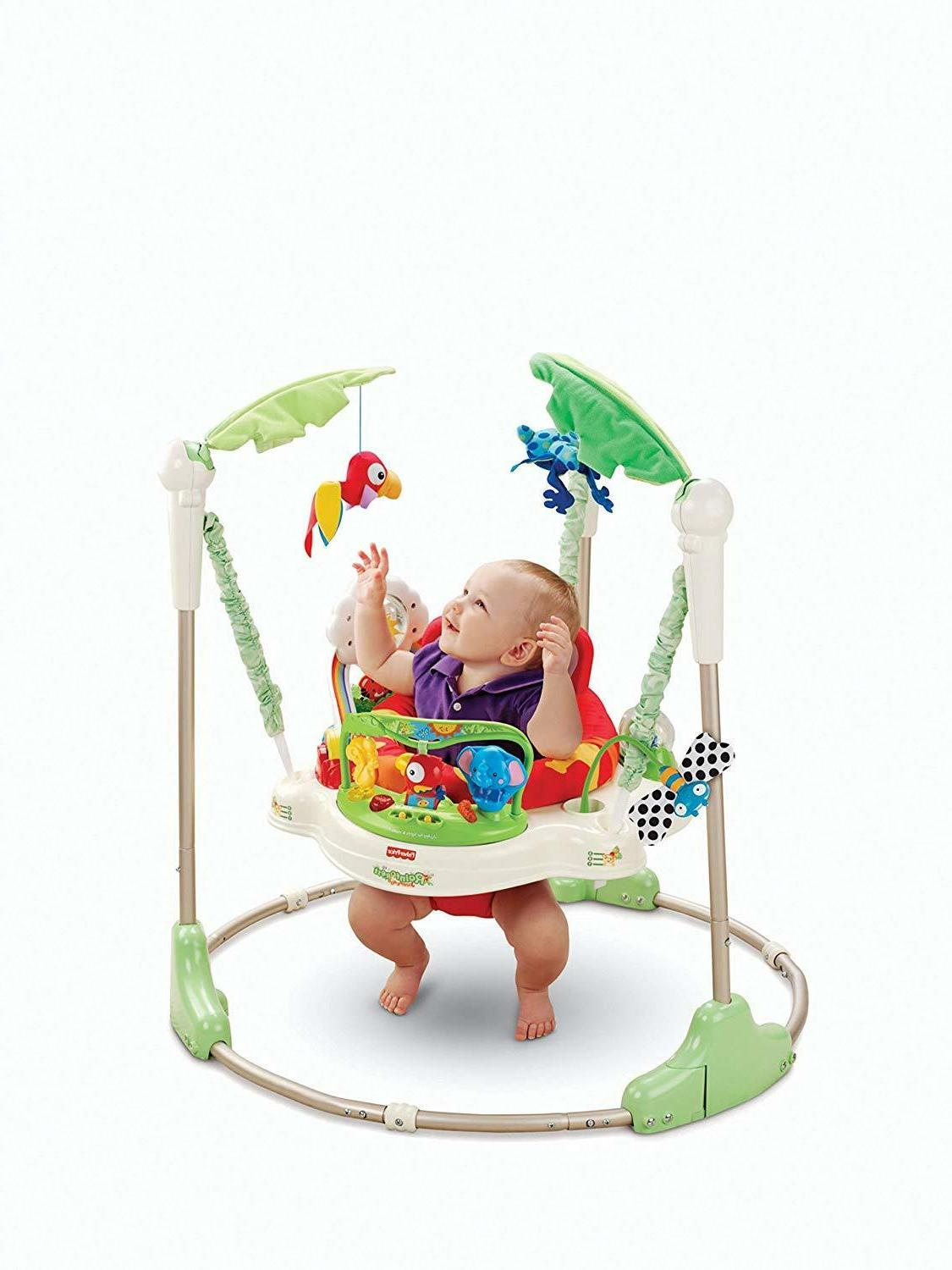 Fisher Price Rainforest Baby Jumper Bouncer Activity Seat