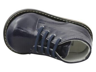 Josmo Infant/Toddler First Walker Ostrich Oxfords Shoes
