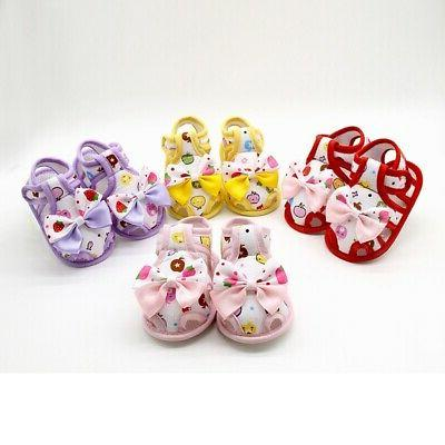 Kids Baby Sole Shoes Toddler Princess Summer