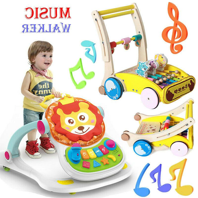 music baby walker baby first step car