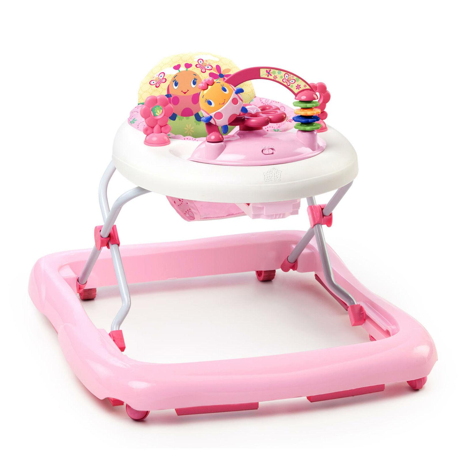 New Pink Walker for Growing Toddler Baby Girl Tot Removable