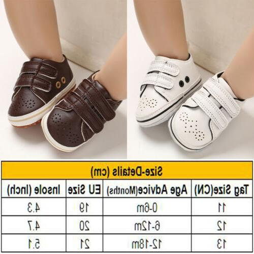 Newborn Girl Crib Shoes Infant Toddler Pre Sneakers