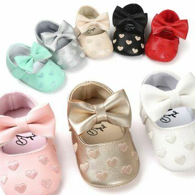 Newborn Baby Crib Shoes Infant Slip-on Sneaker First