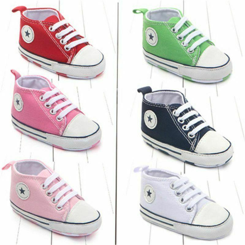 Newborn Sneakers Baby Shoes Boys Girls First Walkers Infant