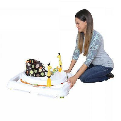 Baby Foldable High Back Seat Activity