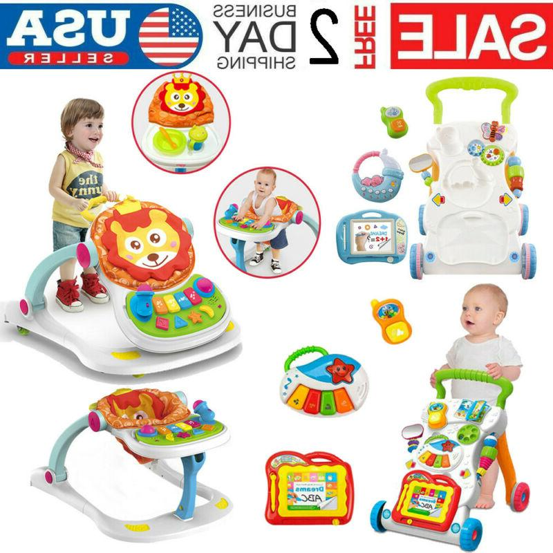 sit to stand baby walker stroller multi