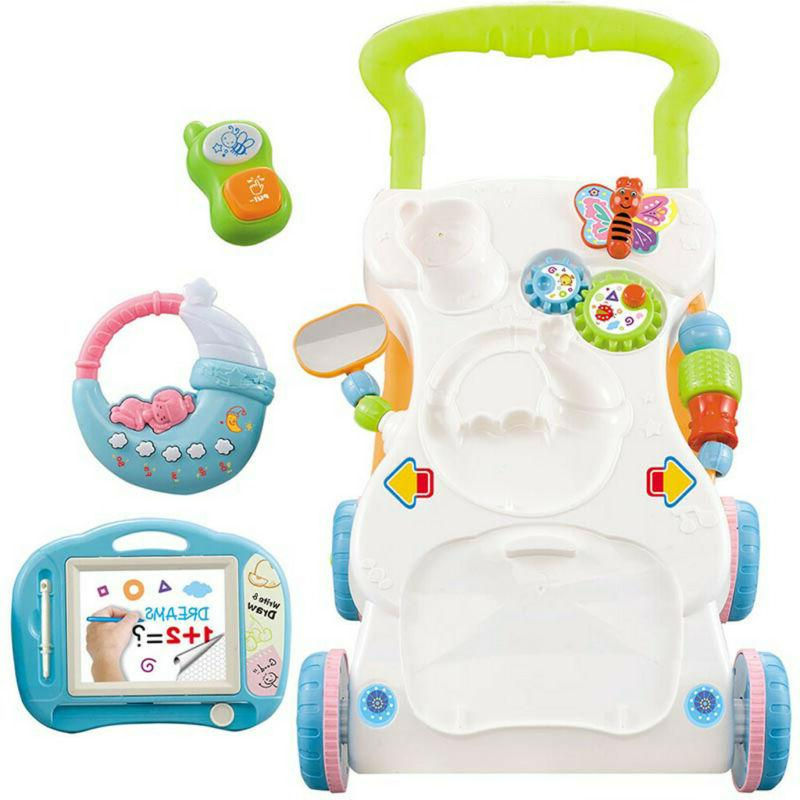 Baby Walker Multi-function Early Education Music Baby