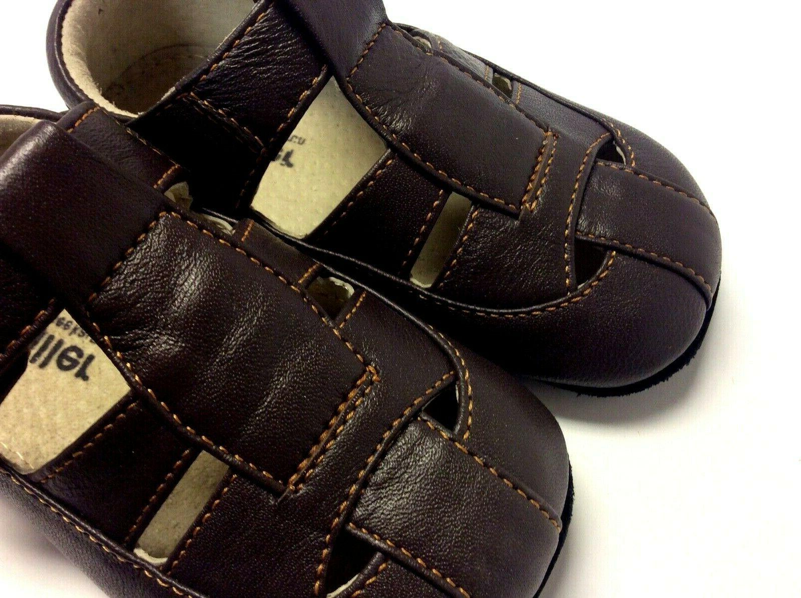 Smaller by See Run baby boy leather sole 18-24m