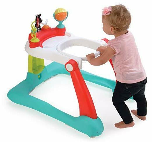 Kolcraft Tiny 2-in-1 Activity Toddler Walker - Seated or Walk-Beh