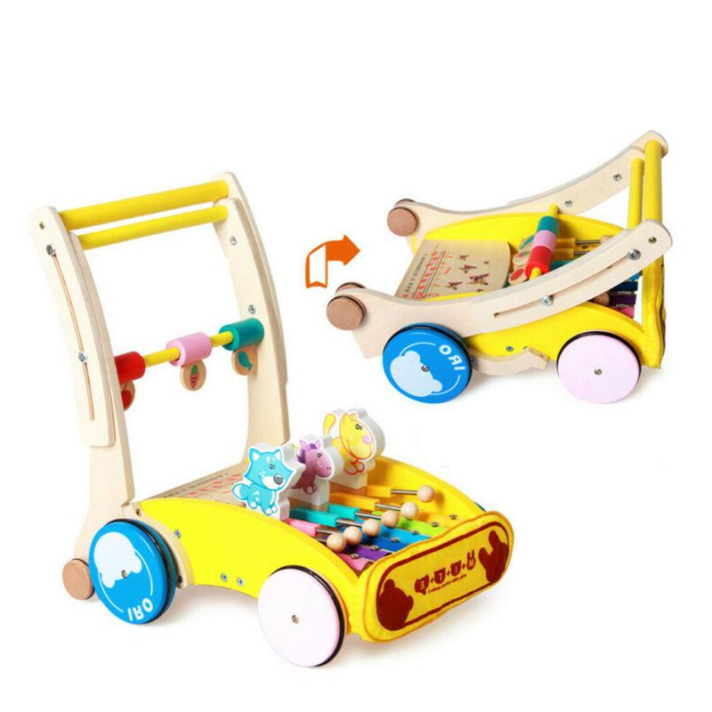 4 in Sit-to-stand Baby Stroller Toddler Toy