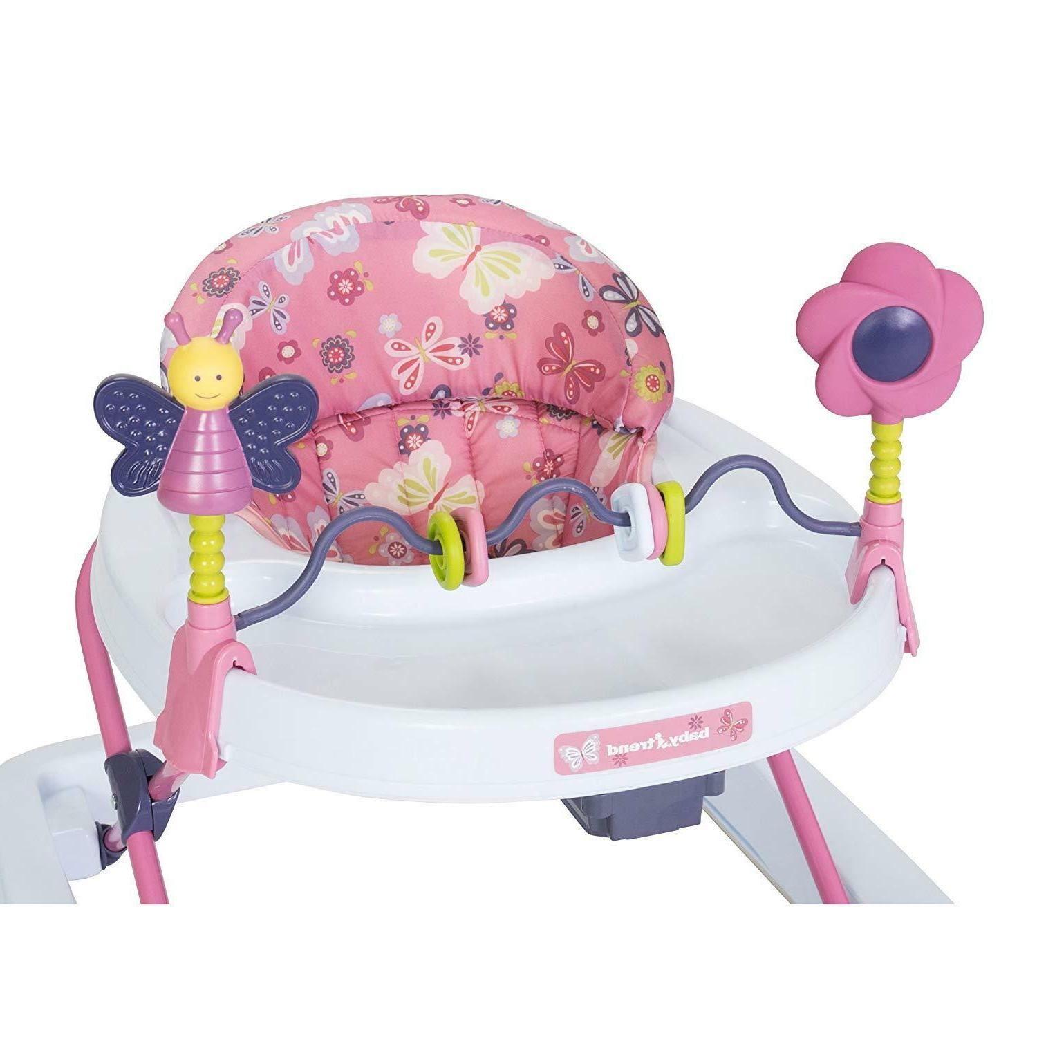 Baby Walkers for Boys with Toys Bar Multi-Directional