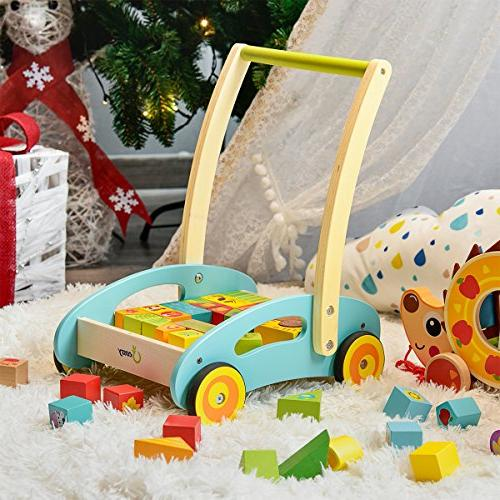 cossy Baby Walker Toys 1 Theme Roll Cart Push & Pull Toy