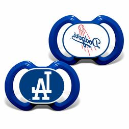 MLB Los Angeles Dodgers Baby Fanatic 2-Piece Pacifier Set