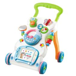Multifunctional Babies Walker with Music and Rattle for Boys