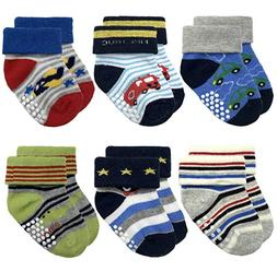 NEW Baby SOFT  Socks for Infant Toddler Boys Cotton Baby Wea