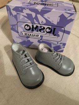 👼NEW! Josmo Baby Unisex GRAY Walking Shoes First Walker S