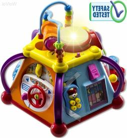 New WolVol Educational Kids Toddler Baby Toy Musical Activit