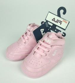 NEW Fila Kids Crib Pre-Walker Athletic Shoes for Baby Girls