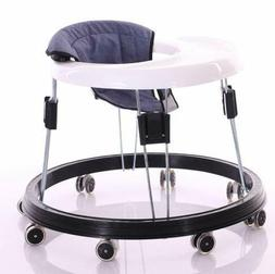 New Latest Anti-Rollover Folding Baby Walker Safe Toddler Pu