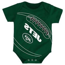 """New York Jets NFL Outerstuff Infant Green """"Fanatic"""" Football"""