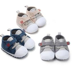 Newborn Baby Boys Girls New Style Canvas Shoes Letter Pre Wa