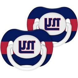 NewYork Giants Pacifiers 2 Pack Set Infant Baby Fanatic BPA