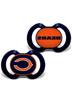 NFL Chicago Bears Baby Fanatic 2-Piece Pacifier Set