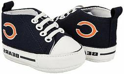 NFL Chicago Bears High Top Infant Pre Walker Shoes, New