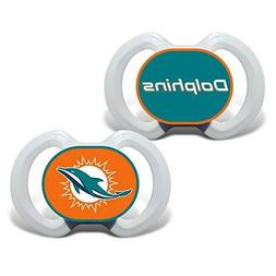 NFL Miami Dolphins Baby Fanatic 2-Piece Pacifier Set