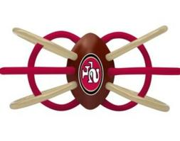 NFL SAN FRANCISCO 49ERS TEETHER/RATTLE/ACTIVITY TOY. BPA FRE