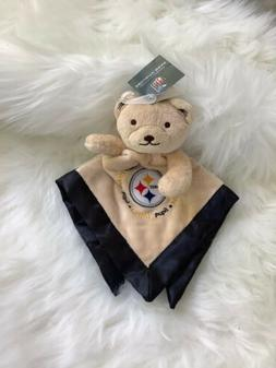 NWT Baby Fanatic NFL Pittsburgh Steelers Bear Baby Security