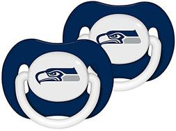Baby Fanatic Pacifier  - Seattle Seahawks Team Colors