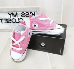 Converse Pink Crib Shoes Baby Infant Girl 88871 First All St