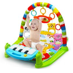New Soft Baby Gym Floor Play Mat Musical Activity Center Kic