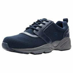 Propet Stability X  Athletic Walking  Shoes - Navy - Mens